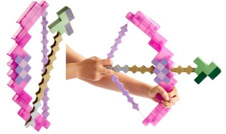 マテル、「Minecraft」の「ダイヤの剣」などを忠実に再現した玩具を5月より日本でも販売