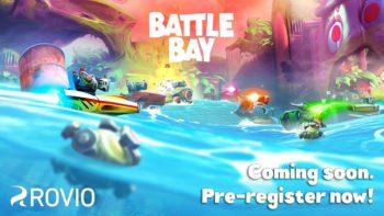Rovio、「Angry Birds」シリーズではないスマホ向けオリジナルMOVA「Battle Bay」の事前登録受付を開始