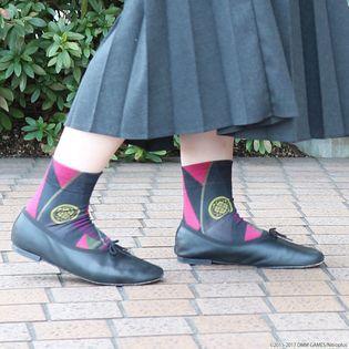 「刀剣乱舞」がソックスブランド「靴下屋」と初コラボ プレミアムバンダイにてコラボソックスの予約受付開始