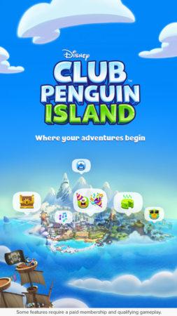 ディズニー、子供向け仮想空間「Club Penguin」のスマホアプリ版をリリース