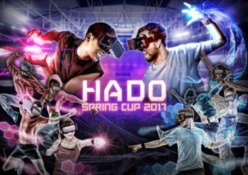 "meleap、AR空間で行うスポーツ""HADO""のe-sports公式大会「HADO SPRING CUP2017」をニコ生&Facebookで生中継"