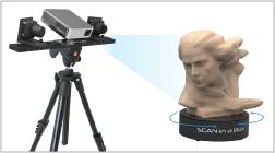 システムクリエイト、光学式3Dスキャナ「SCAN in a BOX」の日本国内販売を開始