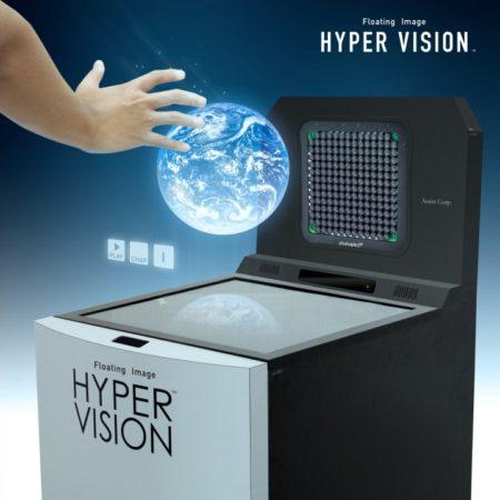 アシスト、触覚フィードバック機能も付いている空中結像システム「Floating ImageHyper Vision」をリリース
