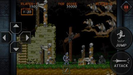 カプコン、名作アクションゲーム「大魔界村」のスマホ版「大魔界村 モバイル」をリリース