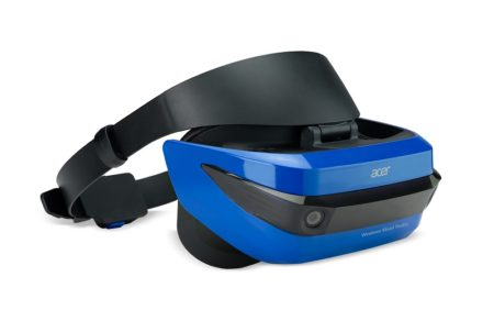 Acer、MR HMD「Acer Windows Mixed Reality Headset デベロッパーエディション」の予約販売を5/31に休止 予想を上回る反響のため