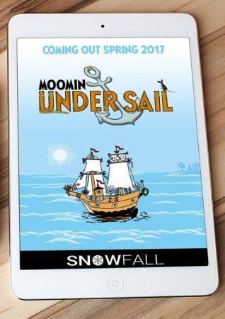 フィンランドのモバイルゲームディベロッパーのSnowfall、「ムーミン」の新たなスマホゲーム「Moomin Under Sail」を開発中