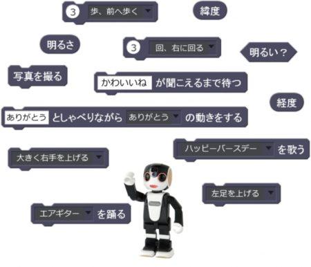 岡山県総合教育センターがプログラミング教育用として県内の公立学校(※)を対象に『RoBoHoN(ロボホン)』の貸し出しを開始