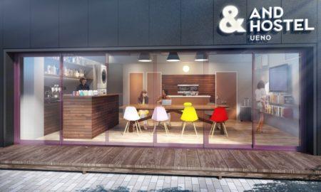 """IoTデバイスだらけの""""スマートホステル""""「&AND HOSTEL」の3号店が5月中旬に東京・上野にオープン"""