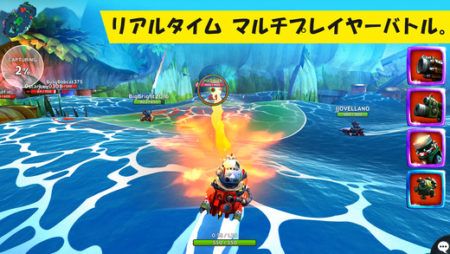 Rovio、「Angry Birds」シリーズではないスマホ向けオリジナルMOVA「Battle Bay」をリリース