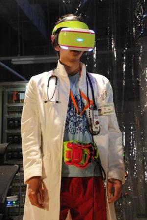 PlayStation VR、「劇場版 仮面ライダーエグゼイド トゥルー・エンディング」とコラボ