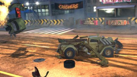 相手より派手に事故った方が勝ち! 「Carmageddon」シリーズのスマホ向け対戦クラッシュゲーム「Carmageddon: Crashers」のテスト配信が開始