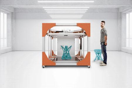 イリス、造形サイズ1m3超の大型3Dプリンタ「BigRep ONE」を販売