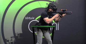 スホ、7月より歩行型VRデバイス「Virtuix Omni」を販売開始 ショールームもオープン