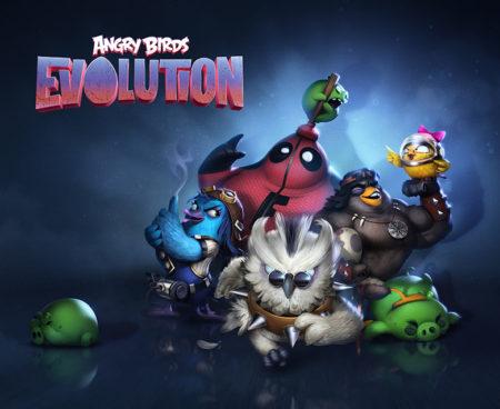 Rovio、Angry Birdsシリーズの新作バトルゲーム「Angry Birds Evolution」をリリース