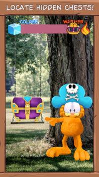ポケモンではなく猫の「ガーフィールド」とクーポンを集めるスマホ向け位置ゲー「Garfield GO」リリース