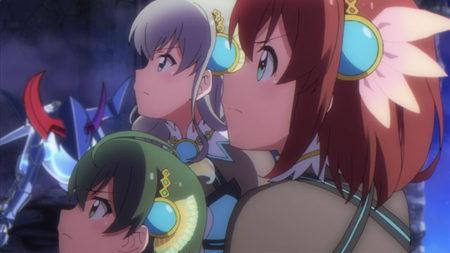スマホ向け学園アクションRPG「バトルガール ハイスクール」のアニメ版が7/2より放送開始