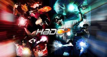 タイトーステーション 小田原シティーモール店、6/7より体感型ARアトラクション「HADO SHOOT!」を導入