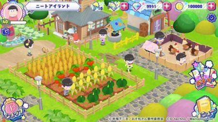 「しま松(仮)」から「おそ松さん よくばり!ニートアイランド」へ マーベラス、アニメ「おそ松さん」を題材とした新作スマホゲームの正式タイトルを発表