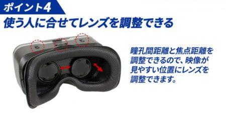上海問屋、深く没入できるスマホ用VRゴーグルを発売