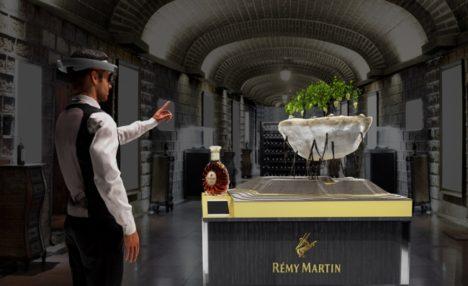 コニャックのレミーマルタン、MRを用いたブランド体験プロジェクトを開始