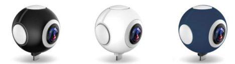 インバースネット、Android向け720度対応パノラマビデオカメラ「720C100」を発売