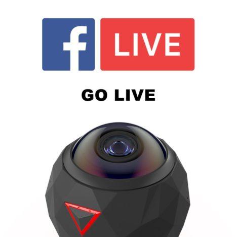 360°VR対応カメラ「360fly」、Facebookでの360度動画ライブ配信に対応