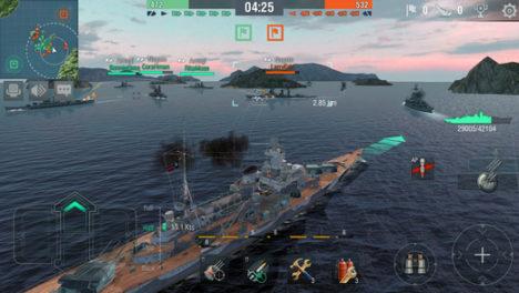 Wargaming、オンライン海戦ゲーム「World of Warships」のスマホ版「World of Warships Blitz」の事前登録受付を開始