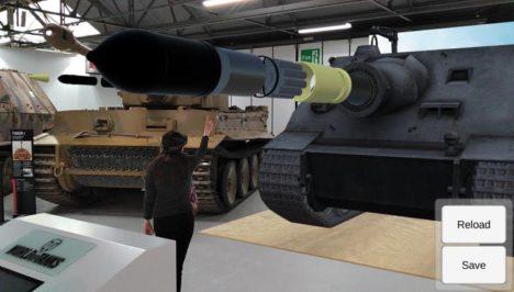 Wargaming、ドイツ軍戦車「Sturmtiger」のAR展示をイギリスのボービントン戦車博物館にて実施