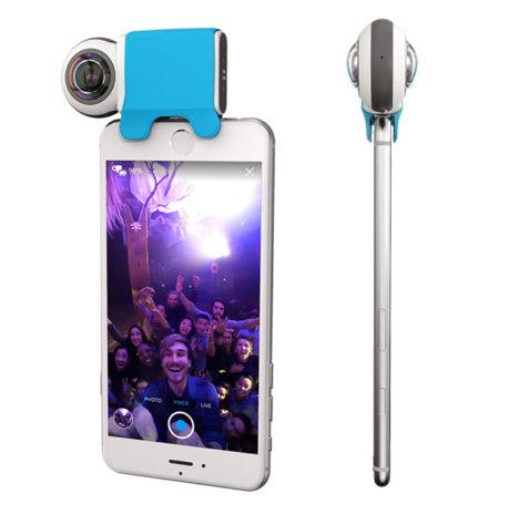 ソフトバンク コマース&サービス、iPhone用360度カメラ「Giroptic iO」の日本国内販売を開始