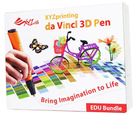 パソコン工房 AKIBA STARTUP、簡単操作の3Dペン 「ダヴィンチ 3Dペン・スターターキット」の取り扱いを開始