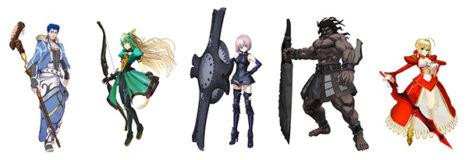 スマホ向けFateRPG「Fate/Grand Order」のアーケード版「Fate/Grand Order Arcade」の開発が始動