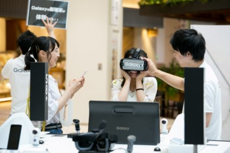 サムスン、7/17よりVRアトラクションなどが楽しめる「Galaxy Studio」を広島にて初開催