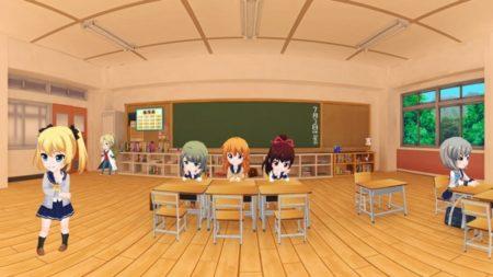 360Channel、キャラと一緒にアニメ版「バトルガール ハイスクール」を鑑賞できるVR動画を公開