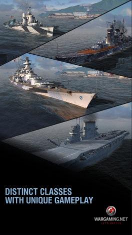 Wargaming、オンライン海戦ゲーム「World of Warships」のスマホ版「World of Warships Blitz」のテスト配信を開始