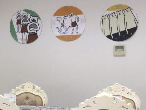 【レポート】人気LINEスタンプのコラボカフェ「けたたましく動くクマ × プリンセスカフェ&ショップ」に行ってきた