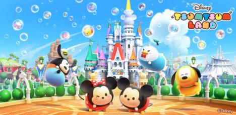 「ツムツム」シリーズ最新作 「ディズニー ツムツムランド」が200万ユーザーを突破