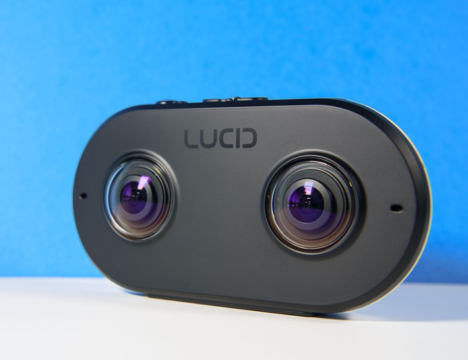 ドゥモア、YouTubeのVRコンテンツに対応した米Lucid VR社製VRカメラ「LucidCam」の国内販売を開始