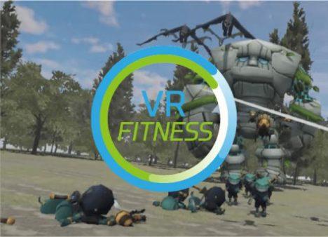 アイデアクラウド、ゲームをプレイしながらフィットネスも楽しめる「VR Fitness」をリリース