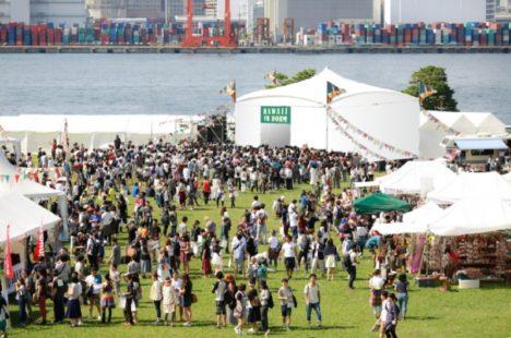 ハワイ州観光局、日本初の屋外VRドームを「旅祭」にて設置