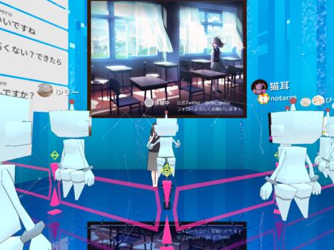 【レポート】夏コミと連動! 「岩本町芸能社」のアイドル研究生がCluster. に登場