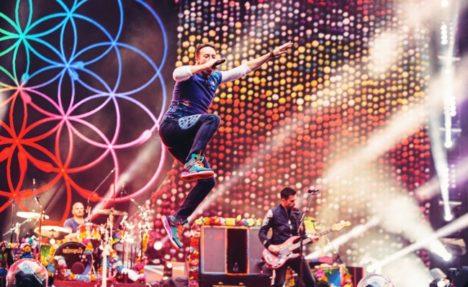 SAMSUNG VR、ロックバンド「Coldplay」を360度ライブストリーミング配信