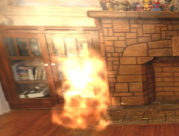 NECら、リアルな映像で火災と煙を再現した「VR消火体験シミュレータ」を開発