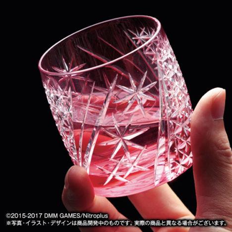 プレミアムバンダイ、「刀剣乱舞」の江戸切子ミニグラスの予約受付を開始