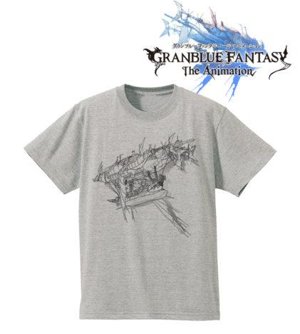 ファンタジーRPG「グランブルーファンタジー」、グランサイファーをデザインしたTシャツ&マルシェバックが受注開始