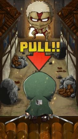 コプロ、「進撃の巨人」の新作ゲームアプリ「進撃の巨人 チェインパズルフィーバー」のiOS版をリリース