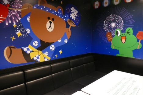 LINE MUSIC、JOYSOUND直営店に期間限定スペシャルルームを展開