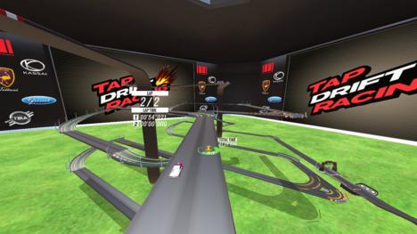 ブループリント、VR対応のスマホ向け3Dカーレースゲーム「対戦!タップドリフトレーシング」のGear VR版をリリース