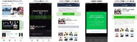 LINE MUSIC、楽曲をダウンロード購入するとアーティストのLINEスタンプがもらえるキャンペーンを実施 第一弾はMONSTA X