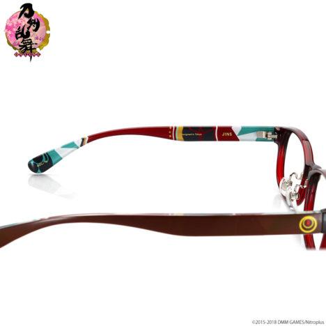 プレミアムバンダイ、「刀剣乱舞」×JINSコラボ眼鏡第2弾の予約受付を開始