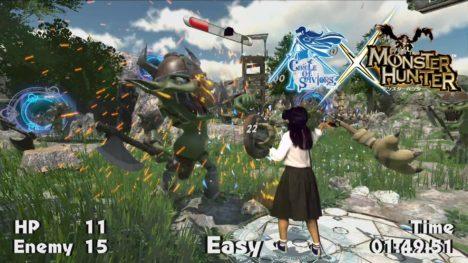 VRゲーム「サークル オブ セイバーズ」の 「モンスターハンター」限定コラボ仕様版が稼働開始